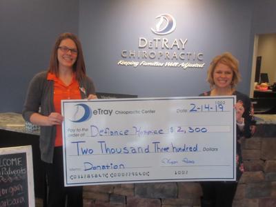 DeTray donation | Local News | crescent-news com