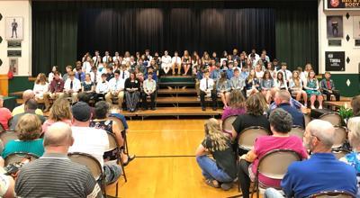 Tinora 8th grade graduation