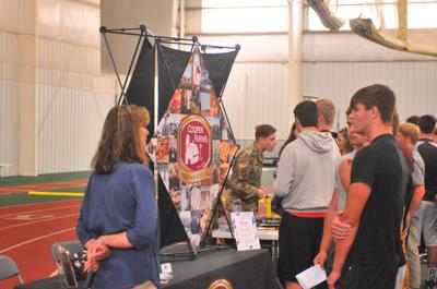 Career day at Defiance College