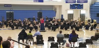 Annual Sousa Concert held at DHS on Sunday