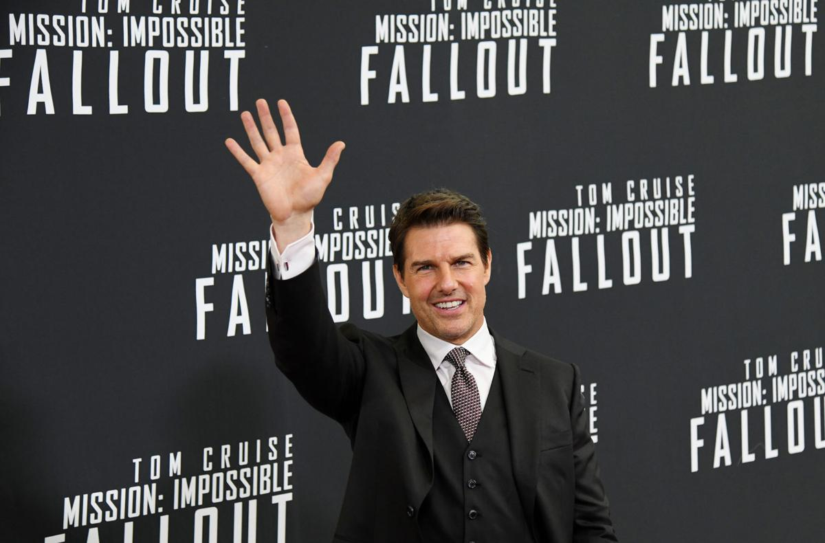 1. Stars turn out for U.S. premiere of 'Mission: Impossible - Fallout'