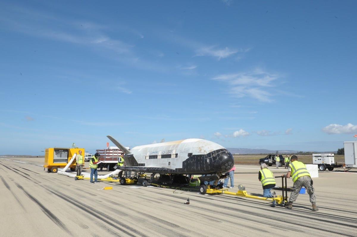 Secretive Pentagon space drone ready to launch