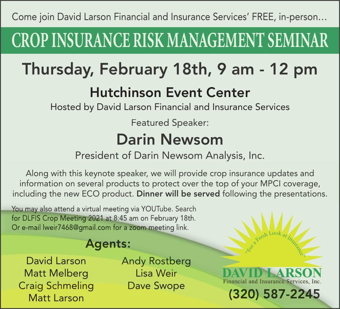 Come join David Larson Financial and