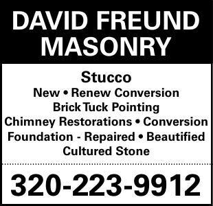 DaviD FreunD Masonry stucco New •