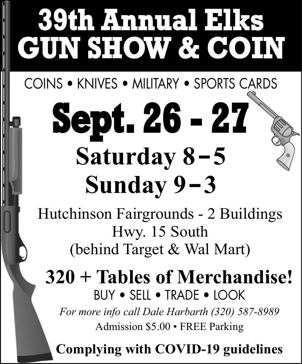 39th Annual Elks GUN SHOW SHO & COIN