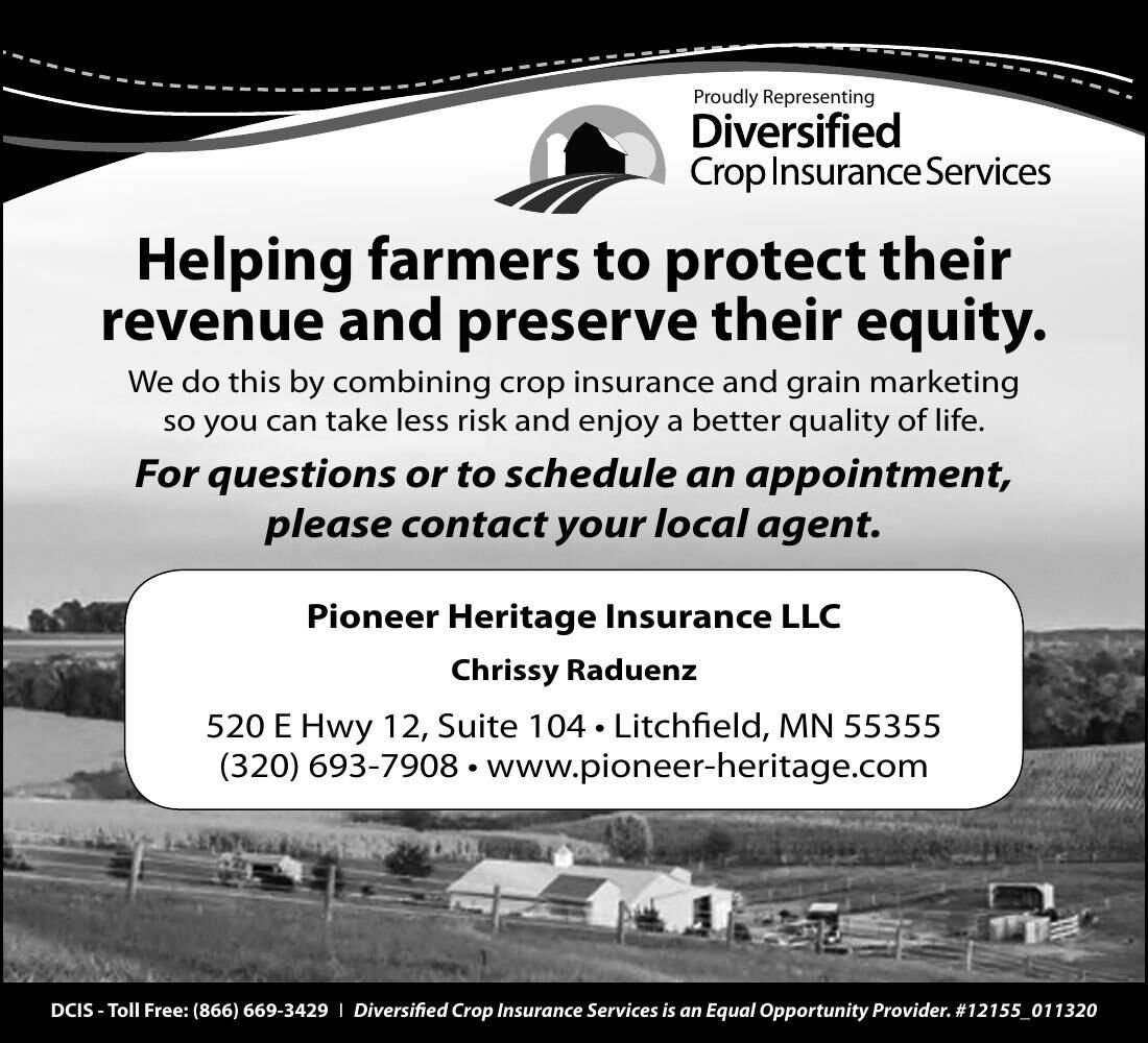 Proudly Representing Helping farmers to
