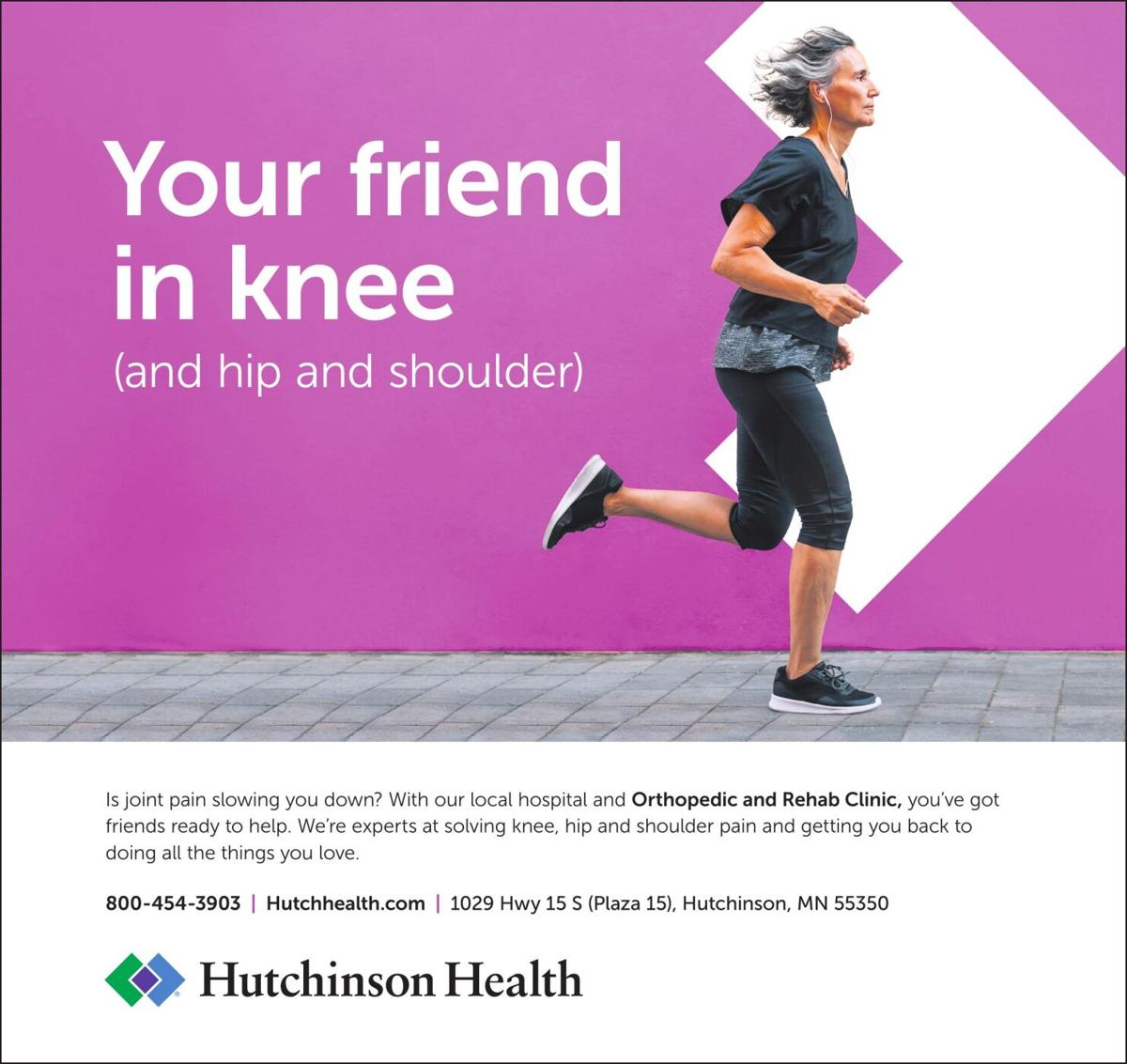 Your friend in knee (and hip and