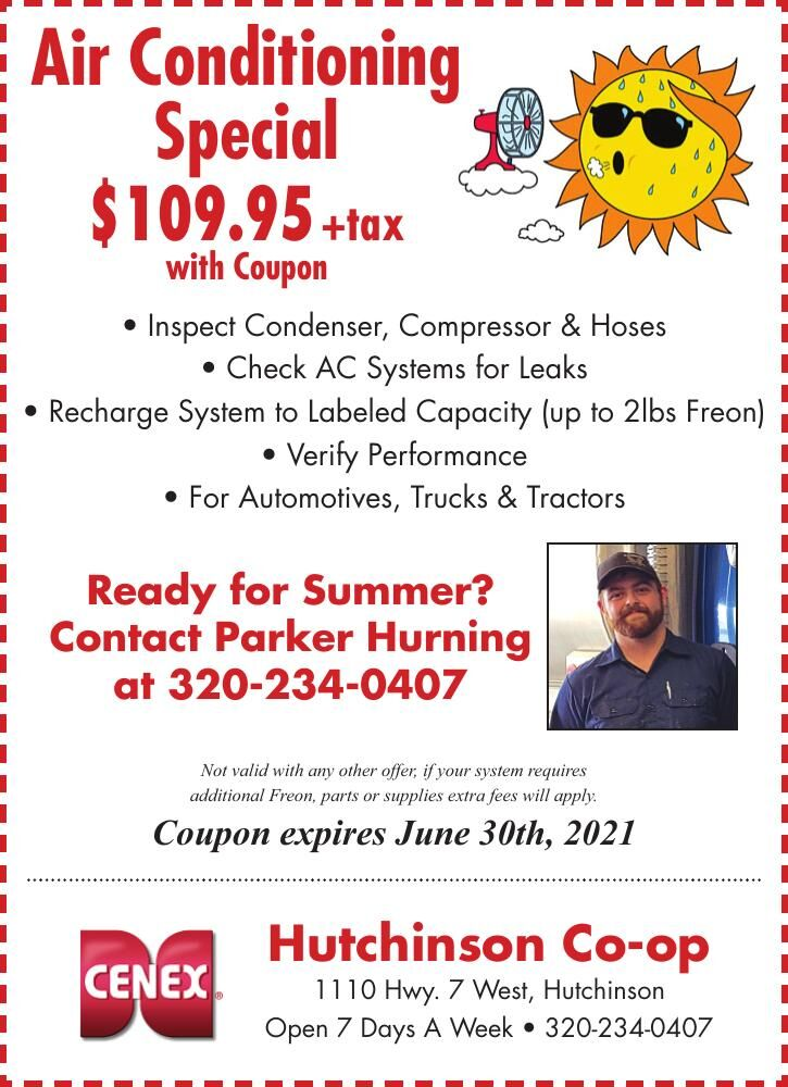 Air Conditioning Special $109.95 +tax