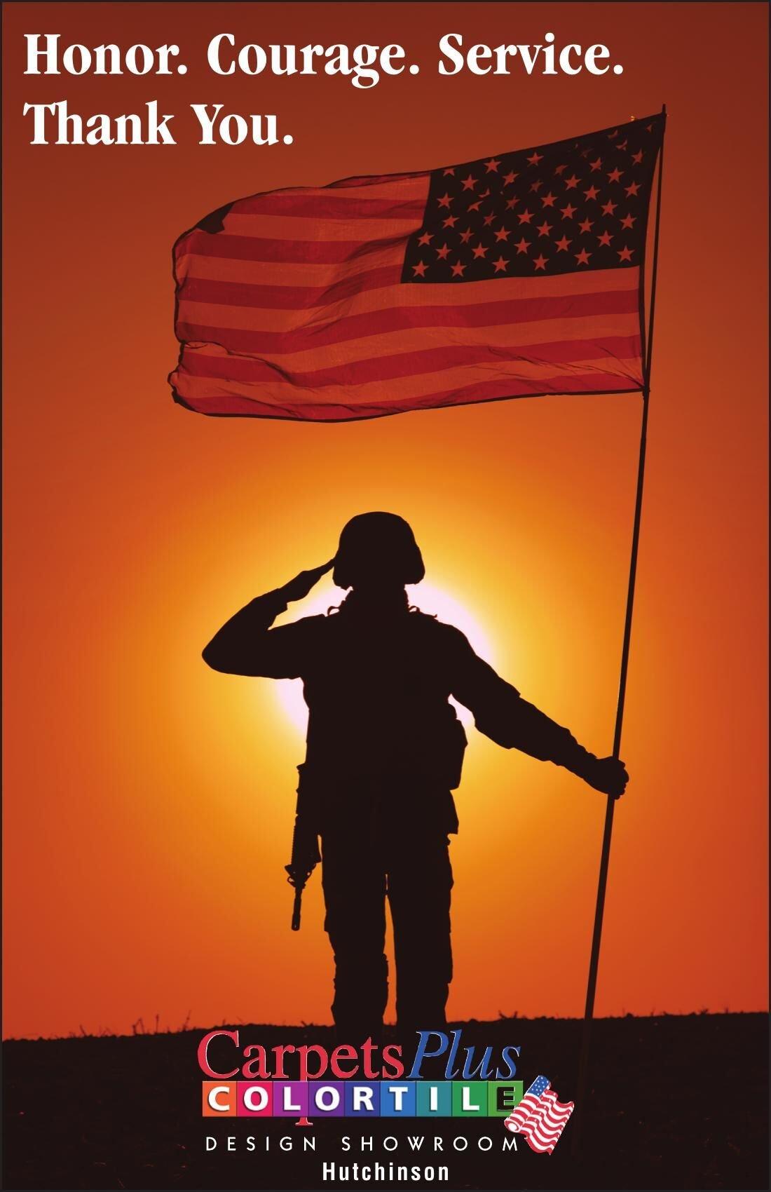Honor. Courage. Service. Thank You.