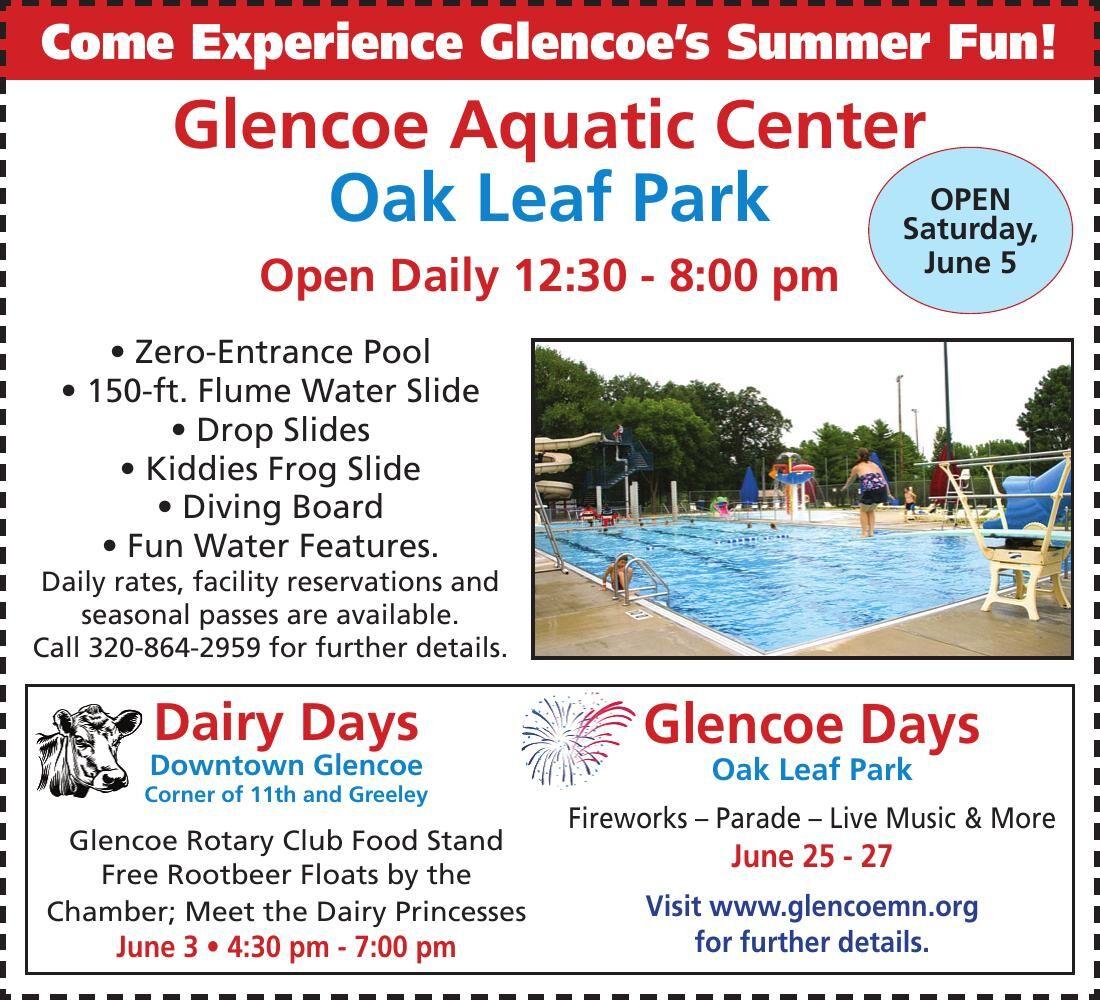 Come Experience Glencoe's Summer Fun!
