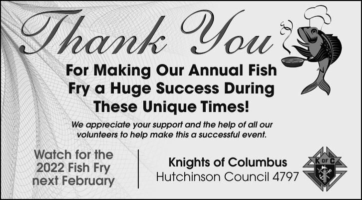 For Making Our Annual Fish Fry a Huge