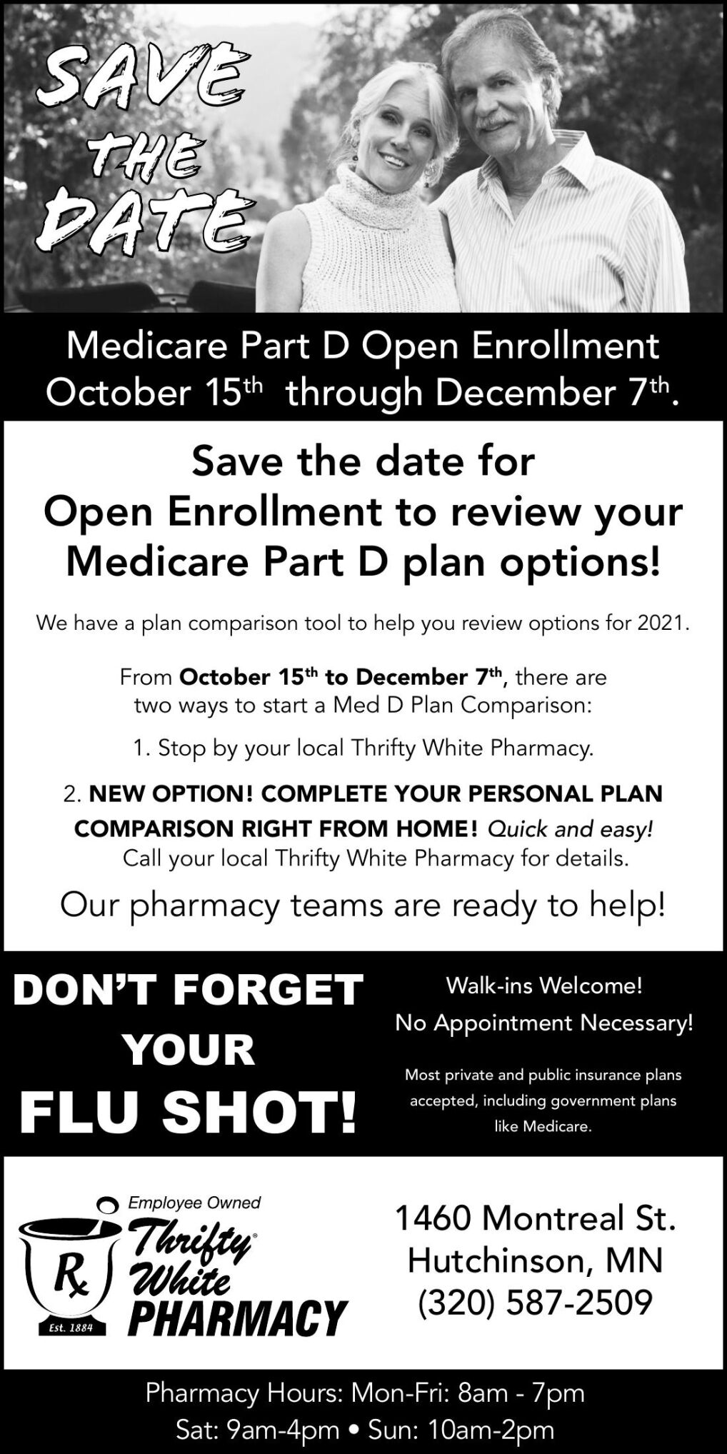 Save the Date Medicare Part D Open