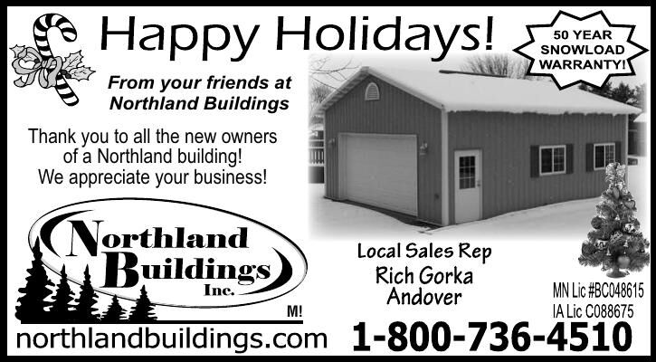 From your friends at Northland