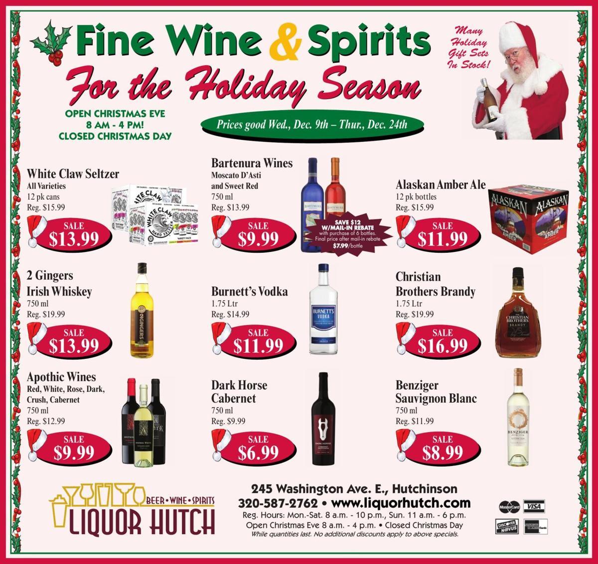 Fine Wine & Spirits Many Holiday Gift