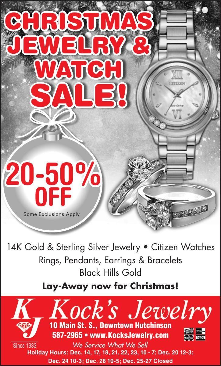 Christmas Jewelry & watCh sale! 20-50%
