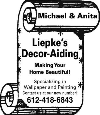 Michael & Anita Liepke's Decor-Aiding