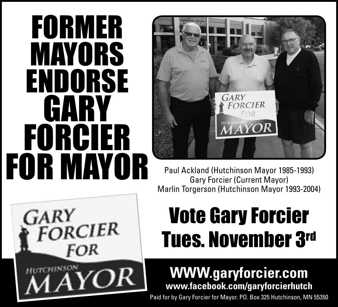 FORMER MAYORS ENDORSE GARY FORCIER FOR