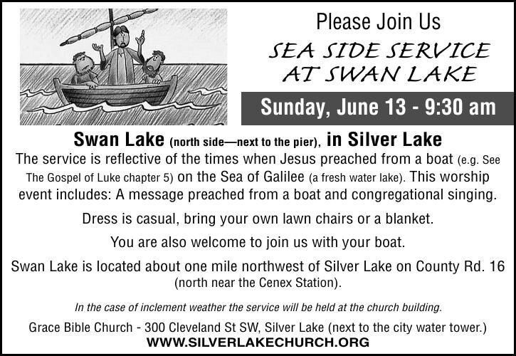 Please Join Us SEA SIDE SERVICE AT SWAN