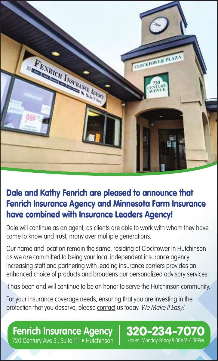 Dale and Kathy Fenrich are pleased to