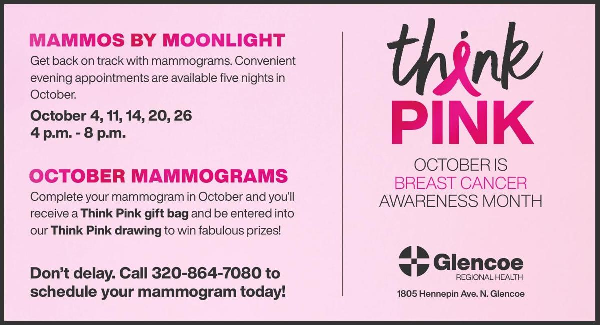 Get back on track with mammograms.
