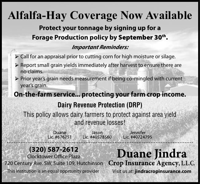 Alfalfa-Hay Coverage Now Available