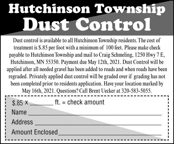 Hutchinson Township Dust Control