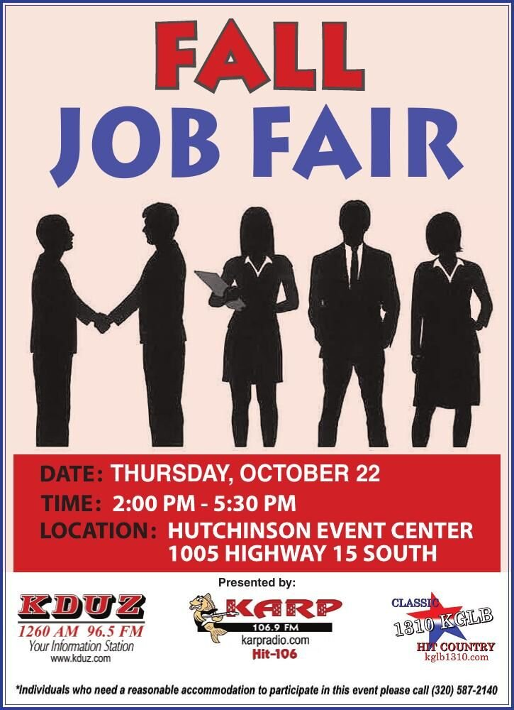 FALL JOB FAIR Thursday, OcTOber 22