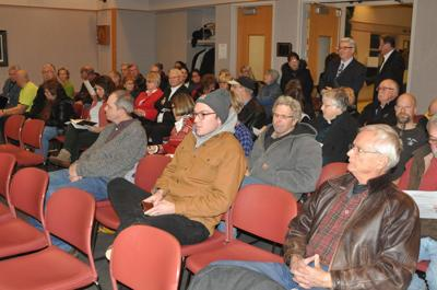 People pack City Center for council meeting