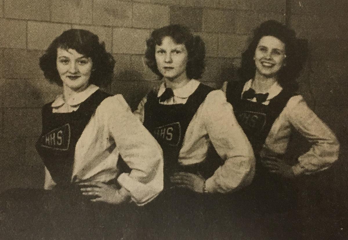 1944-45 Cheerleaders