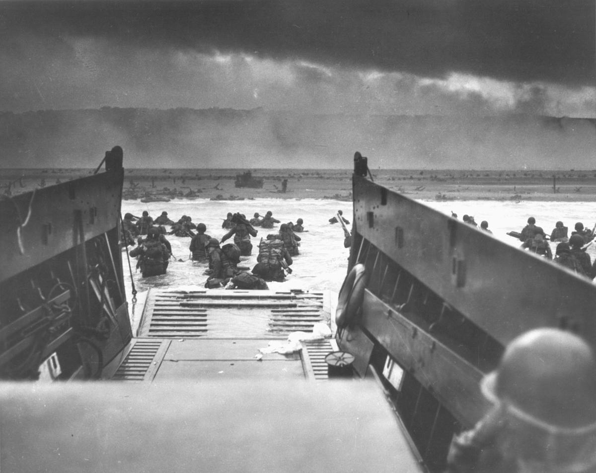 D-Day landing on Omaha Beach