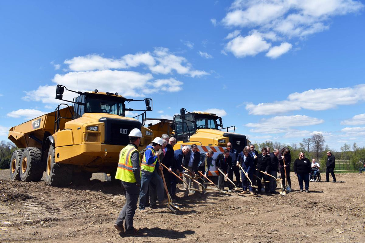Highway 212 expansion groundbreaking