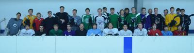 2019 Hutchinson boys hockey team