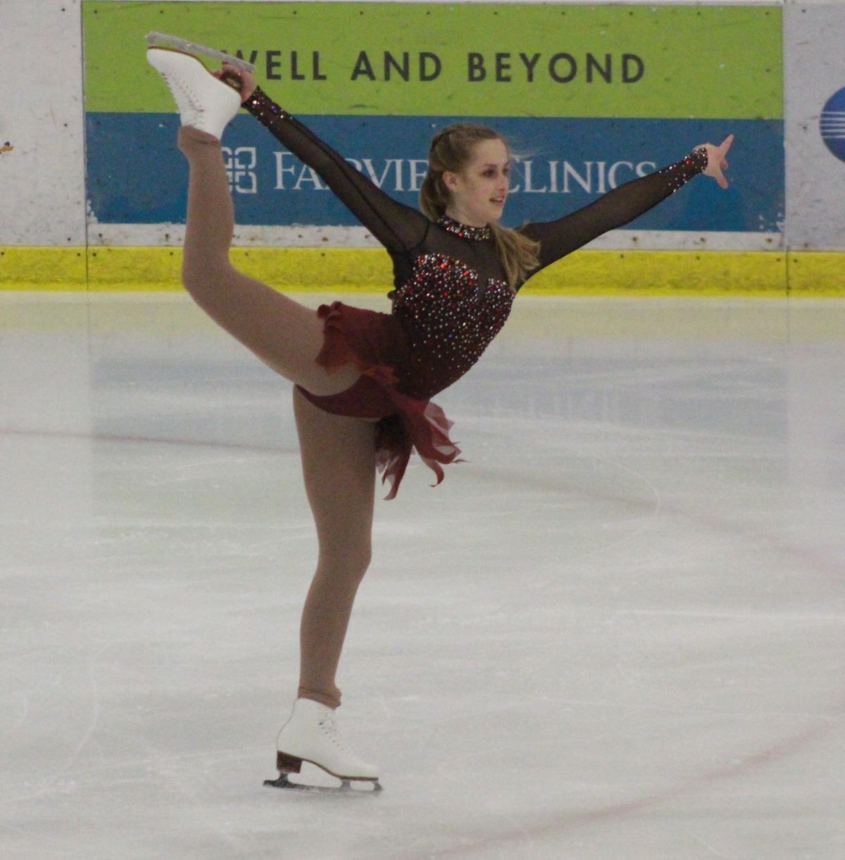 Brooke Johnson skating