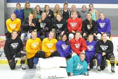 2018 Hutchinson girls hockey team