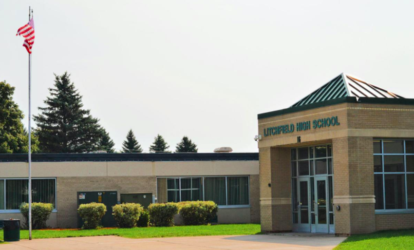 Litchfield High School entrance