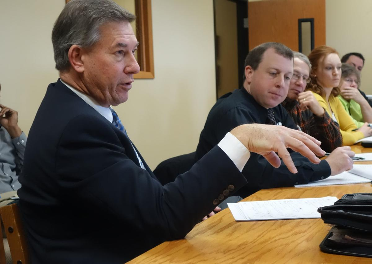 Gary Sprynczynatya talks about school safety