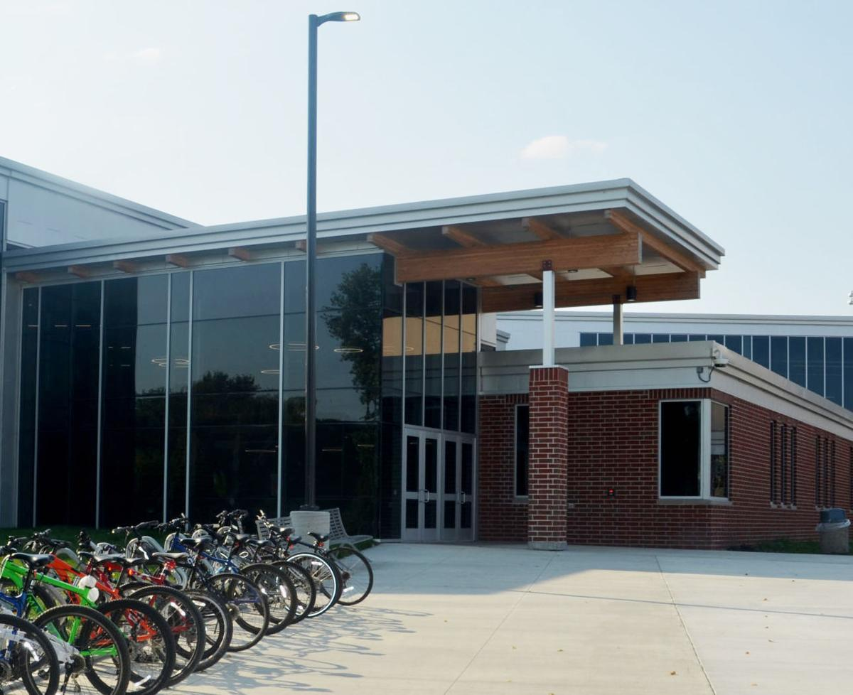 HHS new entrance
