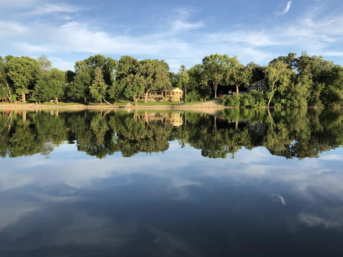 Crow River view of Hutchinson