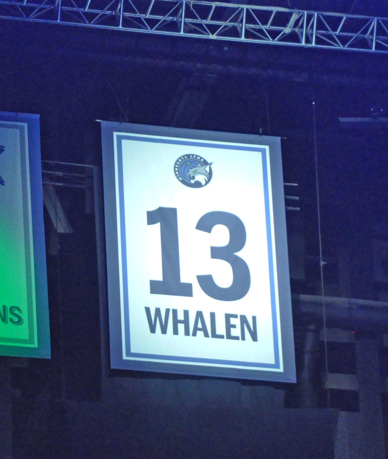 Lindsay Whalen jersey retirement