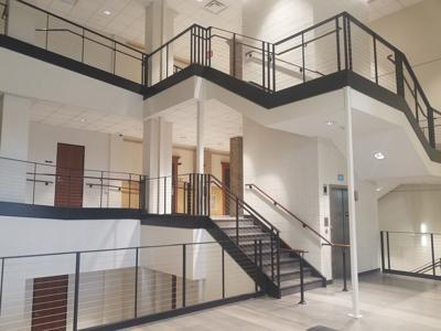 Courthouse foyer