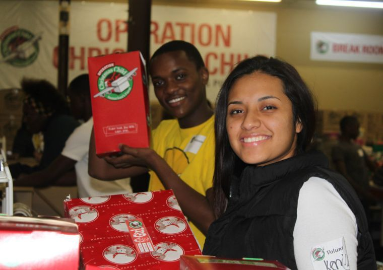 Maplewood Academy is drop-off site for Operation Christmas Child ...