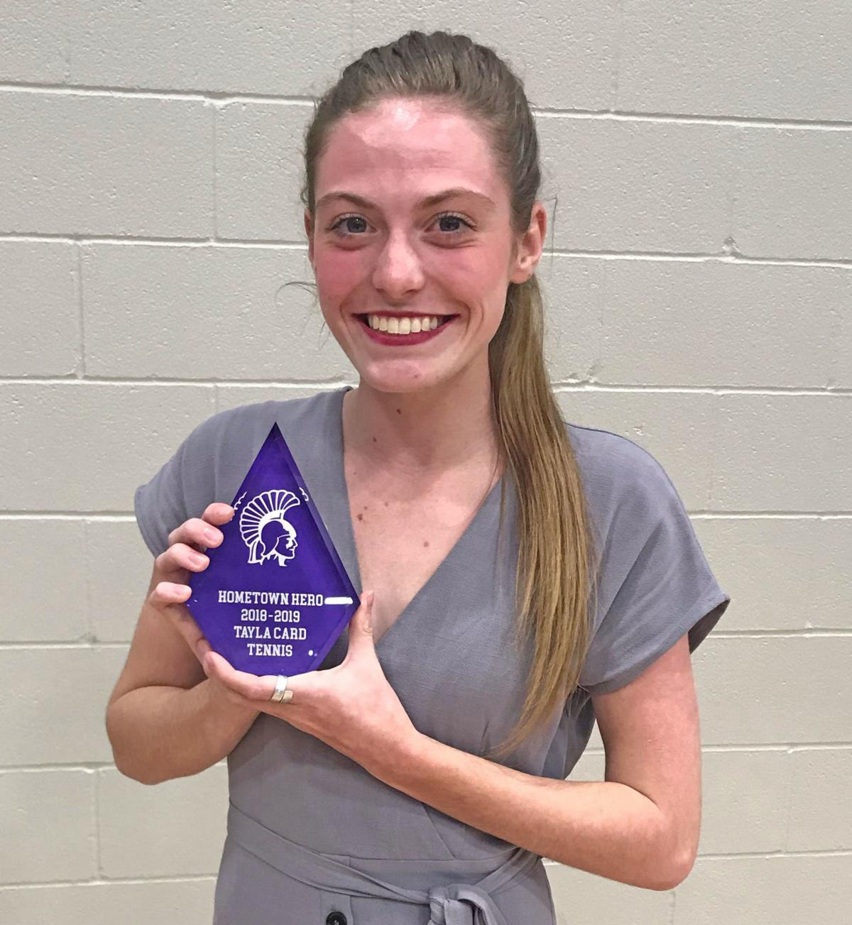 Tayla Card - Hometown Hero Award
