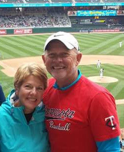 The Gorders at the Twins Game