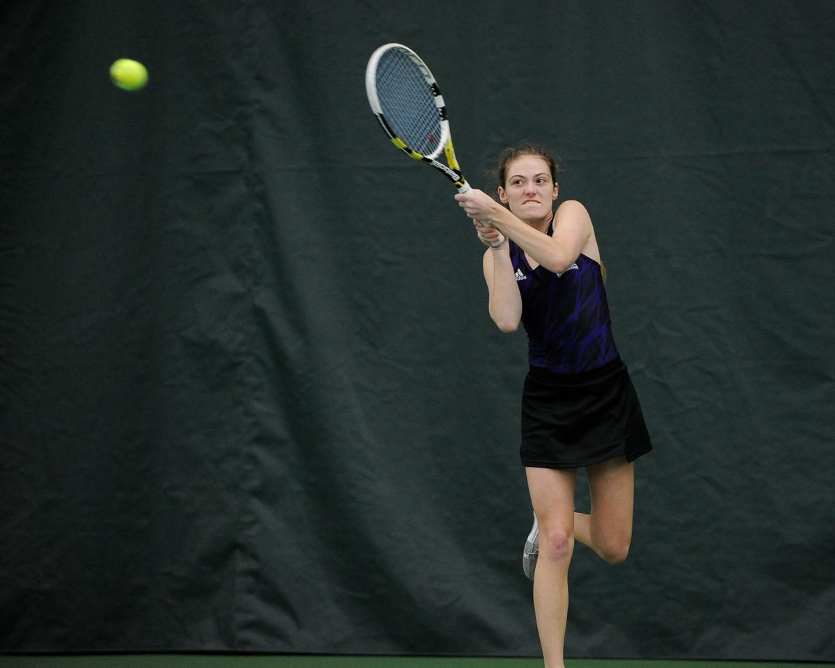 Tayla Card Winona State women's tennis