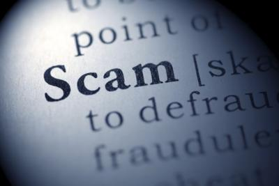 Definition of scam