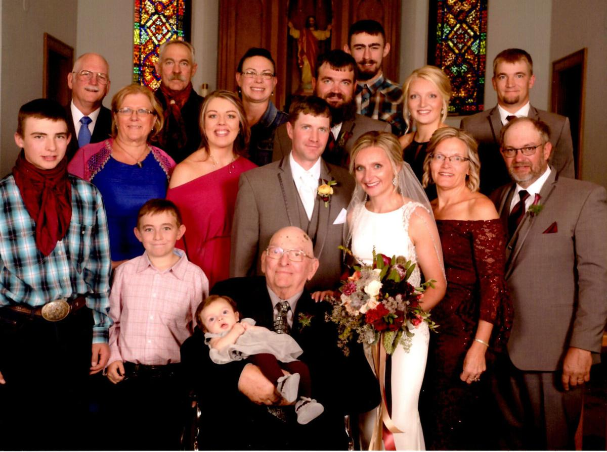Four generations of Bergquists