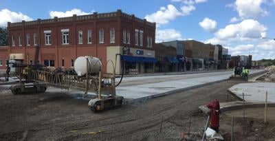 Road construction  update July 31