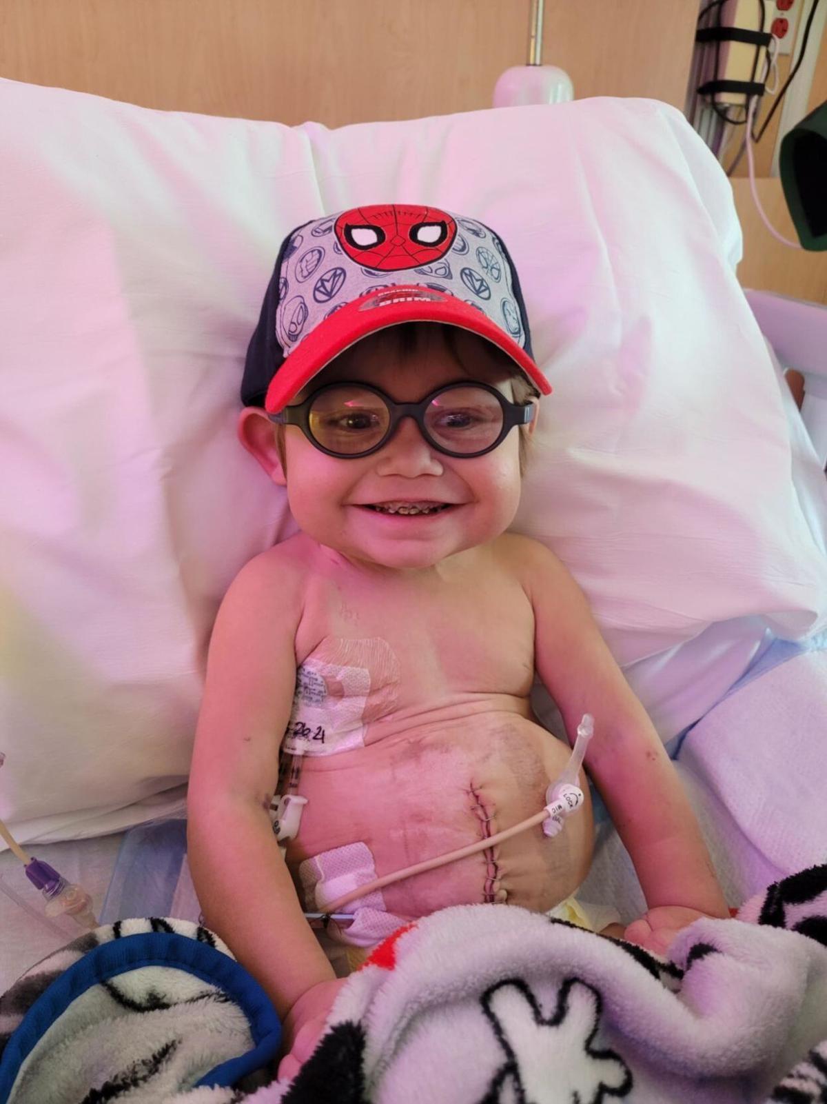 Ryder after transplant surgery
