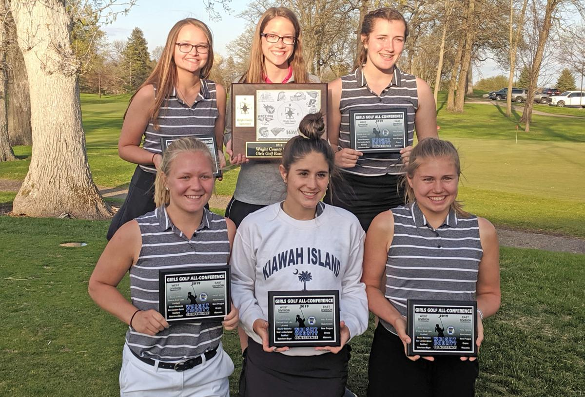 7e854f548 GIRLS GOLF: Hutch swings back-to-back conference titles | Sports ...