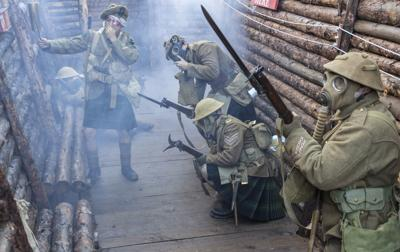 WWI gas attack